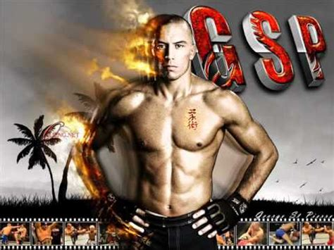 theme music ufc ufc georges st pierre theme song ufc 74 youtube