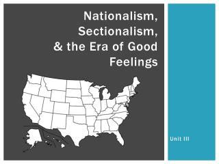 Ppt Nationalism Vs Sectionalism Powerpoint Presentation