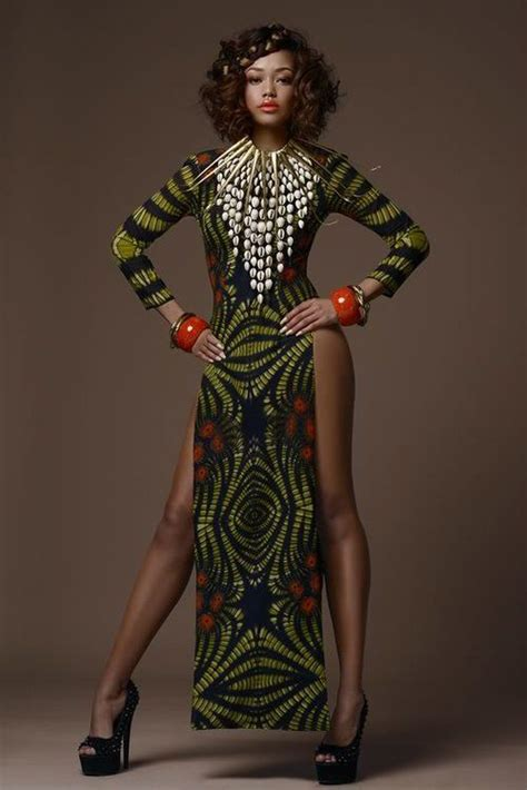 Tribal Inspired Clothes by Gorgeous Tribal Noveau Riche Africa Fashion Week