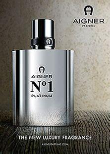 Parfum Aigner Platinum rosario flores de mil colores colorful perfume packaging