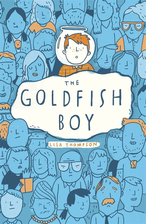 blog tour goldfish boy by lisa thompson making a book cover sisterspooky