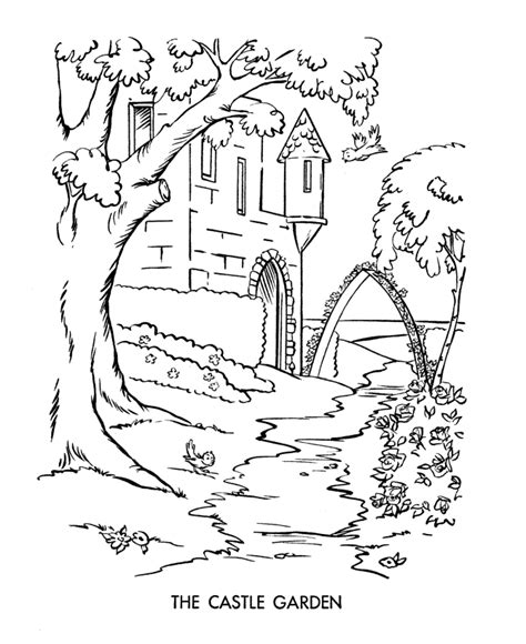 medieval castle coloring page medieval drawings coloring pages