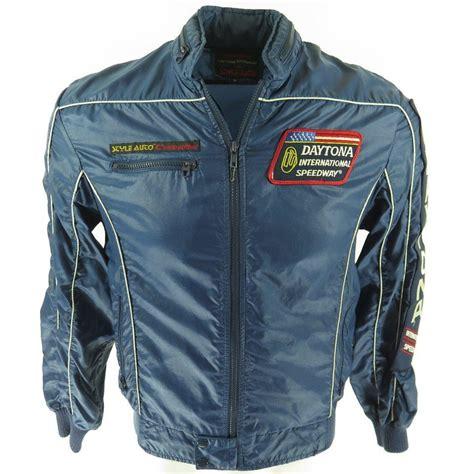 Jaket Hoodie Sweater Motor 37 vintage 80s daytona racing jacket mens m style auto cafe