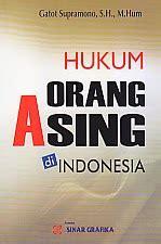 Hukum Orang Asing Diindonesia toko buku rahma hukum orang asing di indonesia
