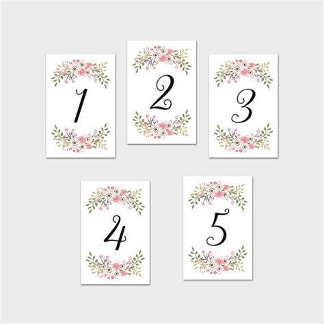 printable table numbers 124 mejores im 225 genes de centro de mesa 15 a 241 os en