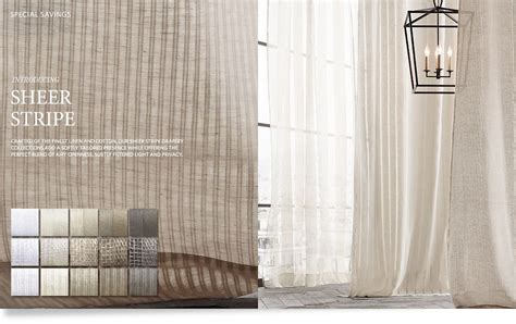 restoration hardware curtains sale drapery collections restoration hardware