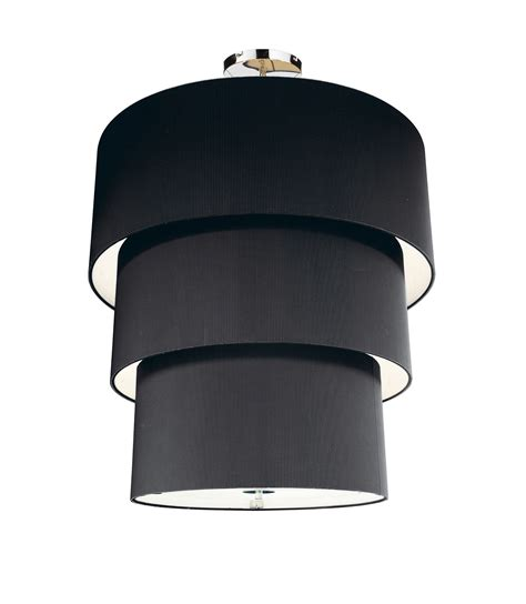 Lampshade Shapes by The Wide Ranges Of The Options Of The Stylish Black Lamp