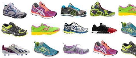 different types of athletic shoes the best shoes for running hiking and sports by