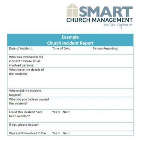 church risk management plan template 15 best images about children s ministry forms and