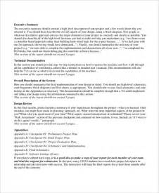 detailed description template 7 project summary templates free word pdf document