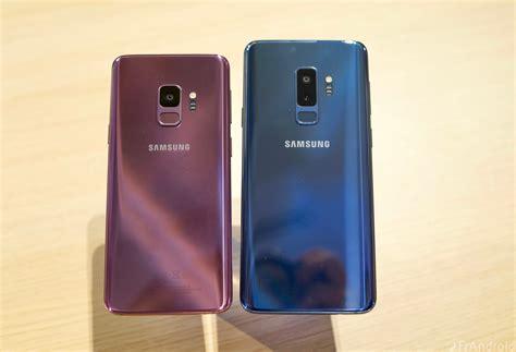 2 Samsung Galaxy S9 Prise En Du Samsung Galaxy S9 Et Du Galaxy S9 Frandroid