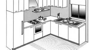 agencement cuisine plan cuisine gratuit pour s inspirer