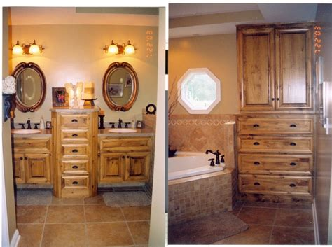 Craigslist Big Island Furniture by Knotty Pine Bath To Match Master Bedroom Furniture