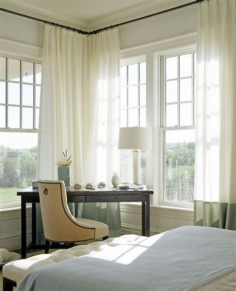 curtains for a corner window 118 best colorblock curtains images on pinterest
