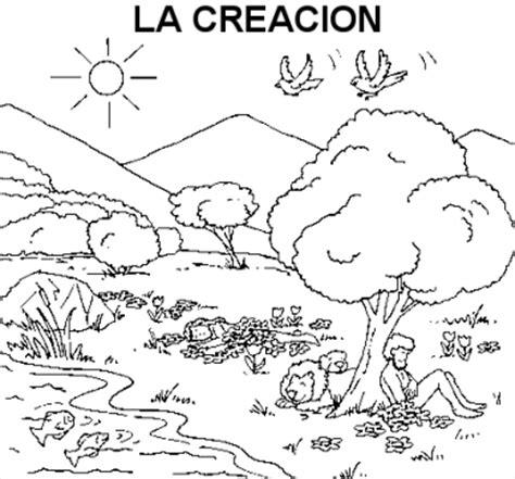 imagenes biblicas de la creacion im 225 genes de la creaci 243 n de dios para colorear im 225 genes