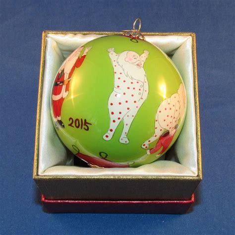 pier 1 imports 2015 li bien christmas ornament santa