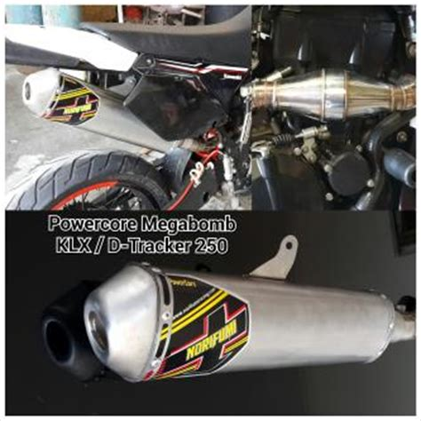Knalpot Klx Pro Circuit Harga Grosir jual knalpot dtracker 250 klx 250 merk norifumi system mega bomb
