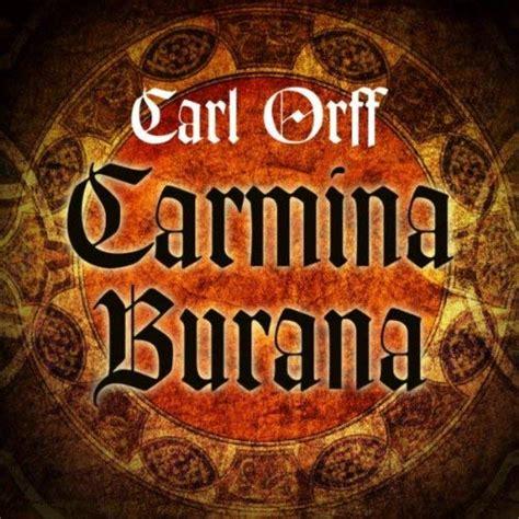 camina burana carl orff carmina burana by salzburg mozarteum orchestra