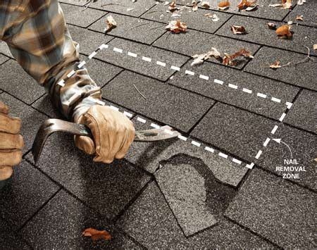 easy shingle repair  family handyman