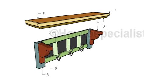 Building A Rack Mount by How To Make A Coat Rack Howtospecialist How To Build