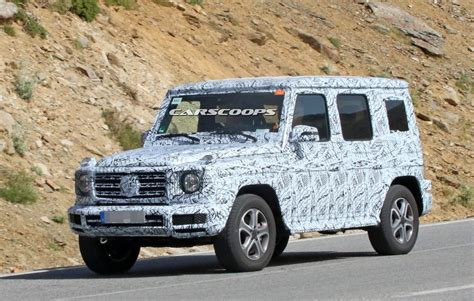 Mercedes G News by New 2018 Mercedes G Class Mule Looks The Same But It S Far