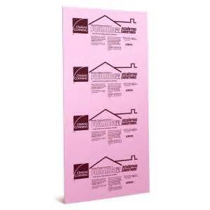 home depot foam board owens corning foamular 1 2 in x 4 ft x 8 ft r 3 squared