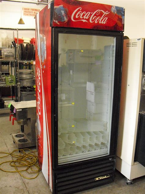 single glass door coolers for sale from true and beverage