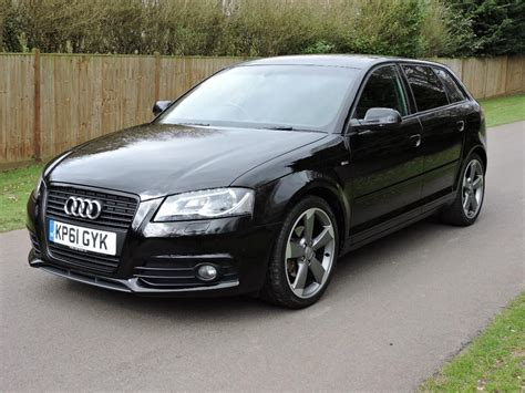 audi s line black edition used 2011 audi a3 sportback tdi s line black edition for