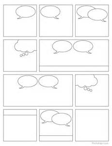 comic template printable free printable comic book panels teaching