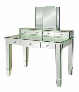 mirror desk chelsea mirrored vanity desk by bungalow 5