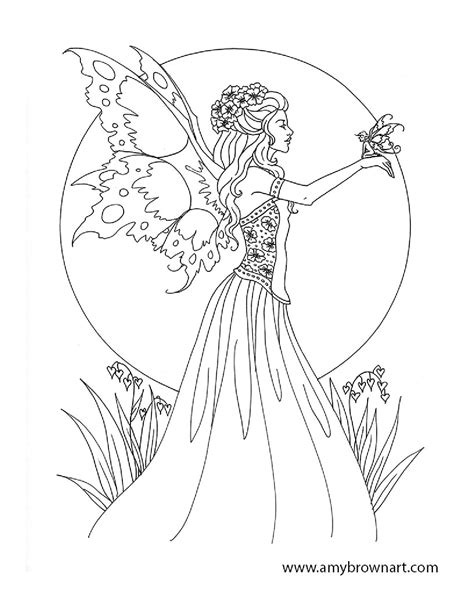 coloring pages for adults of fairies free brown coloring pages fairie coloring