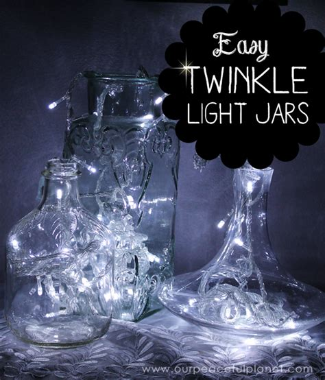 Lights In Jars by It S Easy To Make Diy Twinkle Lights In Jars