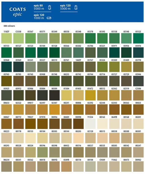 coats and clark thread color chart coats thread color names pictures to pin on