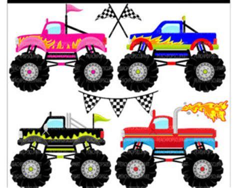 monster trucks clipart monster trucks clipart digital clipart panda free