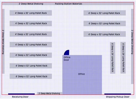 warehouse layout calculator planning your warehouse layout how to set up efficient