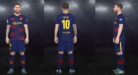 barcelona pes 2018 pes 2018 barcelona fantasy home kit by shenawy pes patch