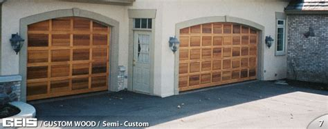 Semi Custom Custom Wood Geis Garage Doors Milwaukee Geis Garage Doors