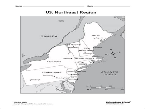 northeast us map quiz us northeast region map quiz travel maps and major
