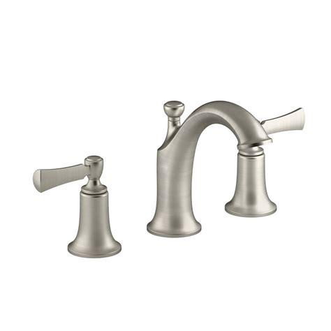 kohler elliston 8 in widespread 2 handle bathroom faucet