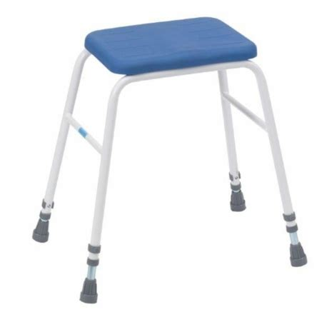 Height Adjustable Perching Stool by Adjustable Height Pu Perching Stool