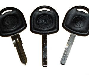 vauxhall and opel key with transponder chip