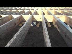 building a house floor and walls youtube