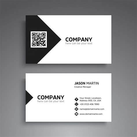 home design business cards minimal business card design vector premium
