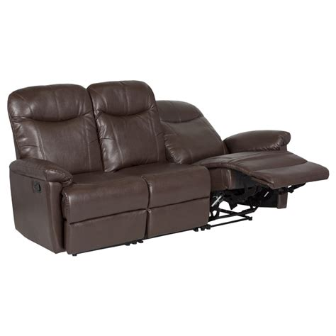 3 seater brown leather recliner sofa 3 seater brown leather recliner sofa 28 images leather