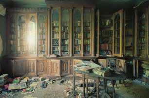 library near home library in abandoned house boing boing