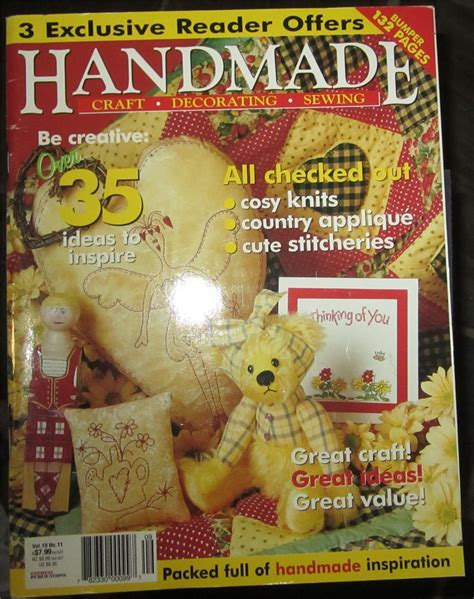Handmade Magazines - handmade craft sewing magazine new ebay