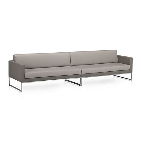 sunbrella sectional dune 2 piece sectional sofa with sunbrella 174 taupe