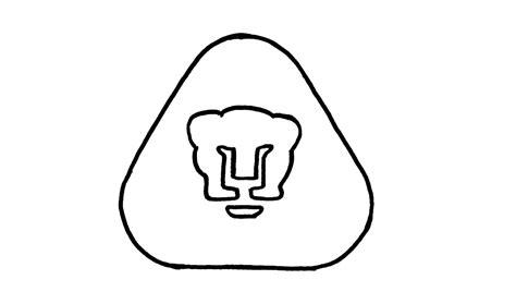 dibujos de pumas como dibujar el escudo del pumas paso a paso f 250 tbol