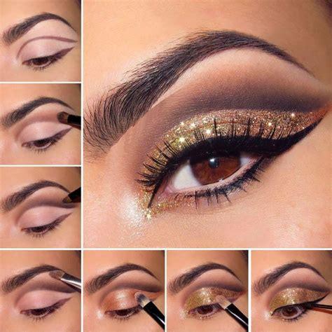 tutorial make up occhi scuri make up capodanno idee trucco occhi