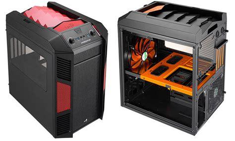 boitier gaming xpredator cube aerocool opte pour le look